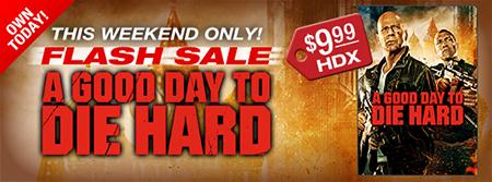 VUDU Flash Sale - A Good Day to Die Hard