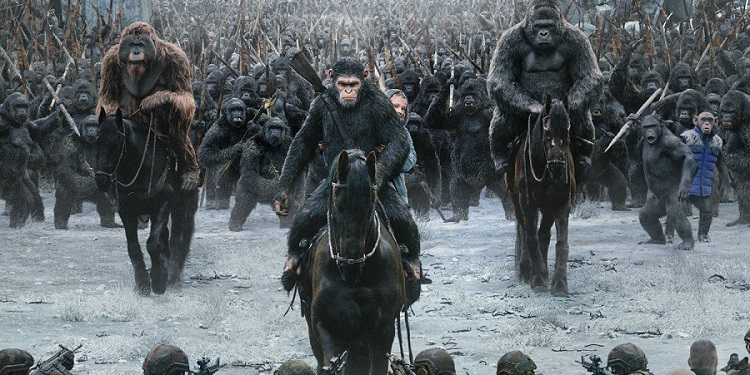 Go bananas and watch War for the Planet of the Apes on Vudu tonight!