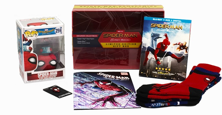 This Spider-man: Homecoming Limited Edition Box Set is Amazing!