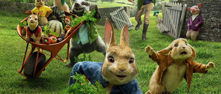 Last chance to asve 25% on Peter Rabbit and over 200 other movies for our Family Sale!
