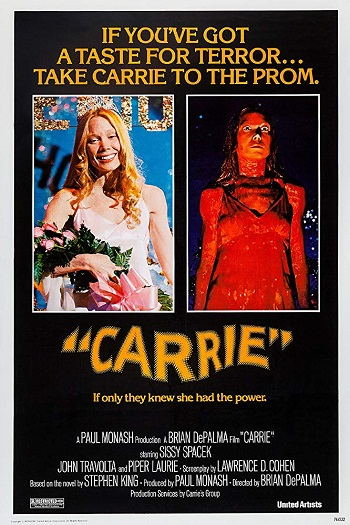 Stephen King Carrie Movie Poster