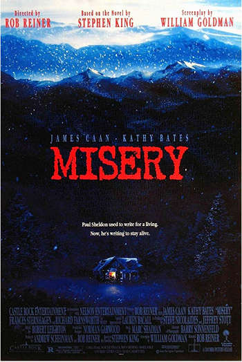 Stephen King Misery Movie Poster