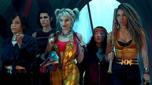 five women standing