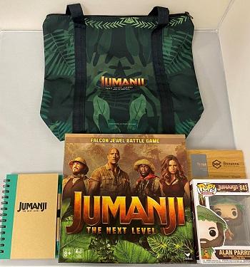 Jumanji Next Level Giveaway