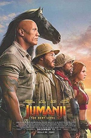 Jumanji Next Level Poster