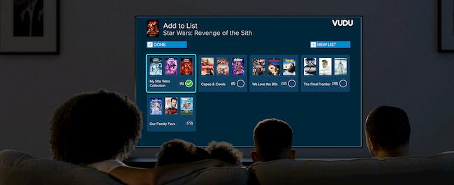Family living room tv list