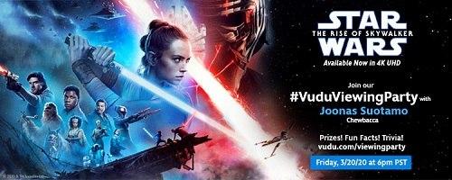Star Wars Rise of Starwalker Banner