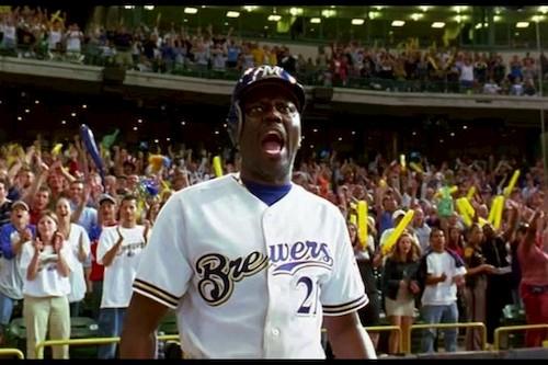 man in baseball uniform on baseball field
