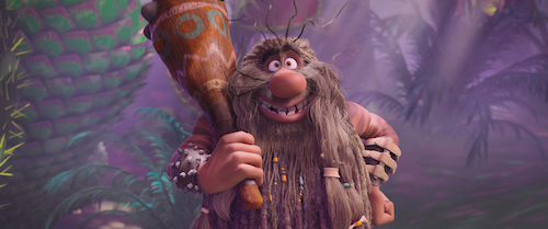 new captain caveman animated