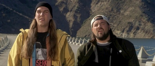two men on a bridge