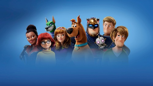 group of animated characters