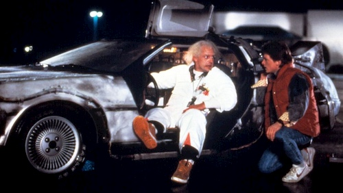 two men sitting in car