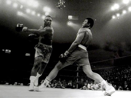 men in boxing ring