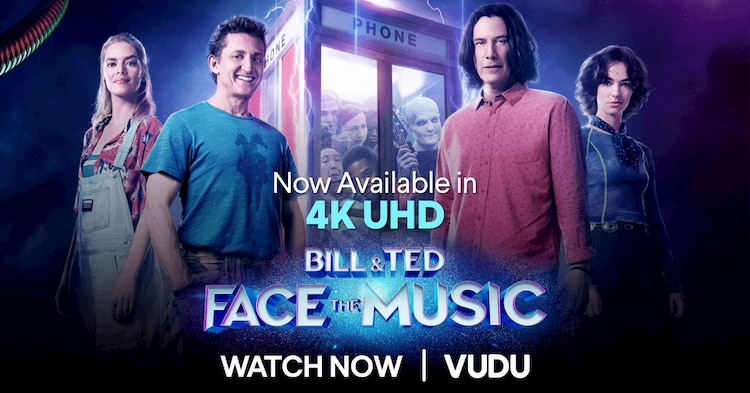 bill and ted face muisc poster