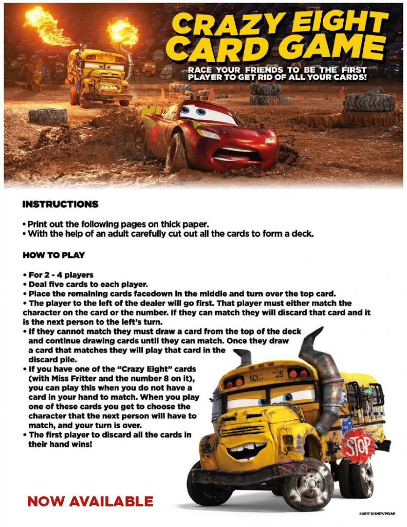 cars fact sheet