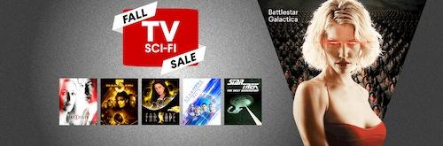 fall sci fi tv sale vudu